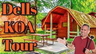 Wisconsin Dells KOA Campground Tour