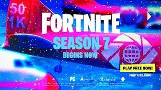 SEASON 7 Trailer LEAKED in Fortnite Battle Royale - SEASON 7 TRAILER?! (REAL or FAKE?)