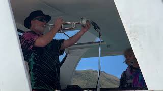Band on the boat