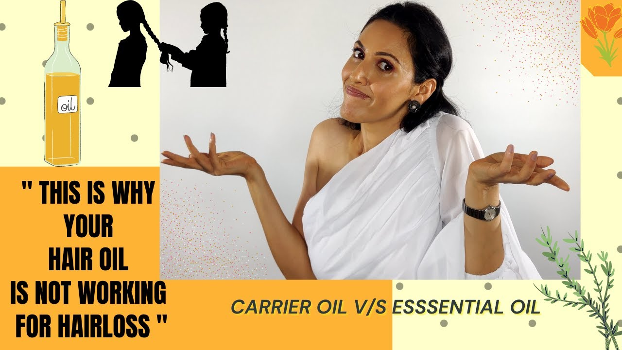 Download How to use Rosemary oil for hair loss, thinning hair and hair growth. Carrier oil v/s Essential oil.