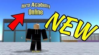 [NEW] Hero Academy Online! | ROBLOX
