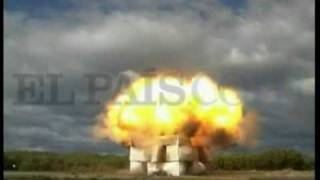 Misil TAURUS, el arma estratégica del Ejército del Aire español - Prueba Mayo 2009