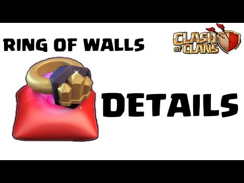 RING OF WALL IN CLASH OF CLANS, WATCH BEFORE CHOOSE.