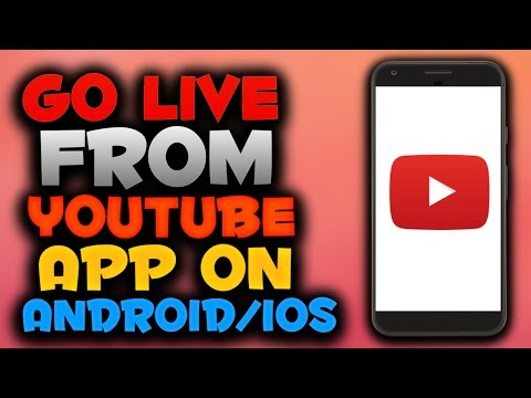 How To Livestream on YouTube On Android/iPhone
