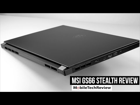 MSI GS66 Stealth Review (2020 Intel 10th Gen)