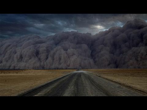 Footage: Sandstorm sweeps across northwest China