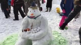 Фестиваль снеговиков 2017. В парке «Сокольники»