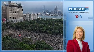 Hong Kong Protests Continue   Plugged In with Greta Van Susteren