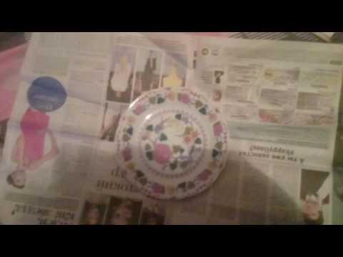 Как завернуть в газету посуду. Переезд.