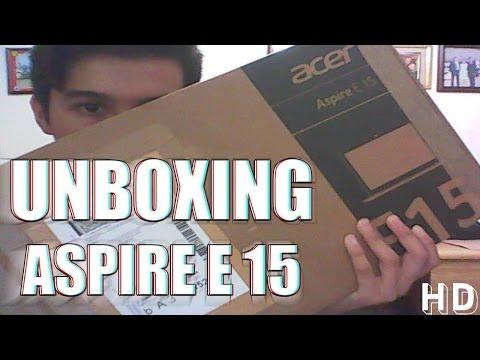 Unboxing Laptop Acer E15 E5-522-83HB