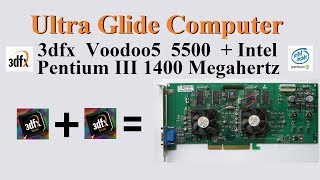 3dfx Voodoo5 5500 Pentium III 1,4 GHz AWE64 Audigy Windows 98 SE Top Glide PC овертоп 2000