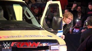 An injured Dean Ambrose retaliates against Brock Lesnar: Raw, February 22, 2016 thumbnail