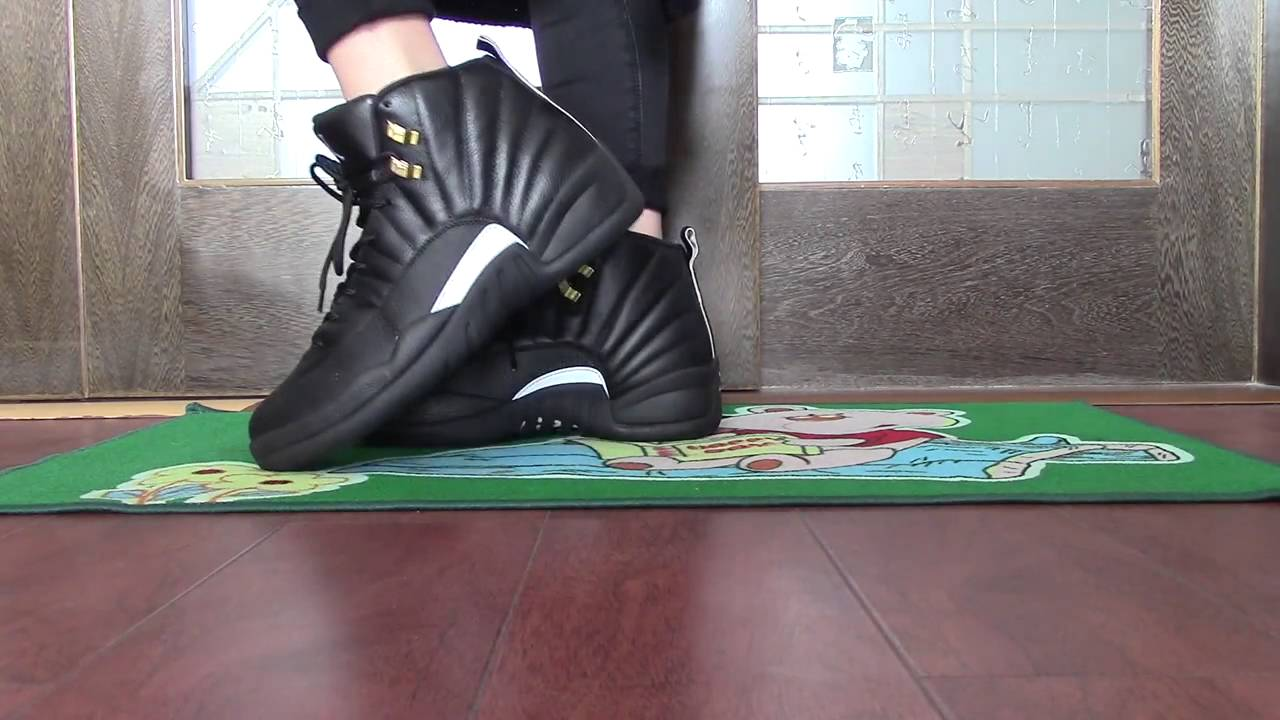 6ae7afd039f Authentic Air Jordan 12 The Master on foot - YouTube