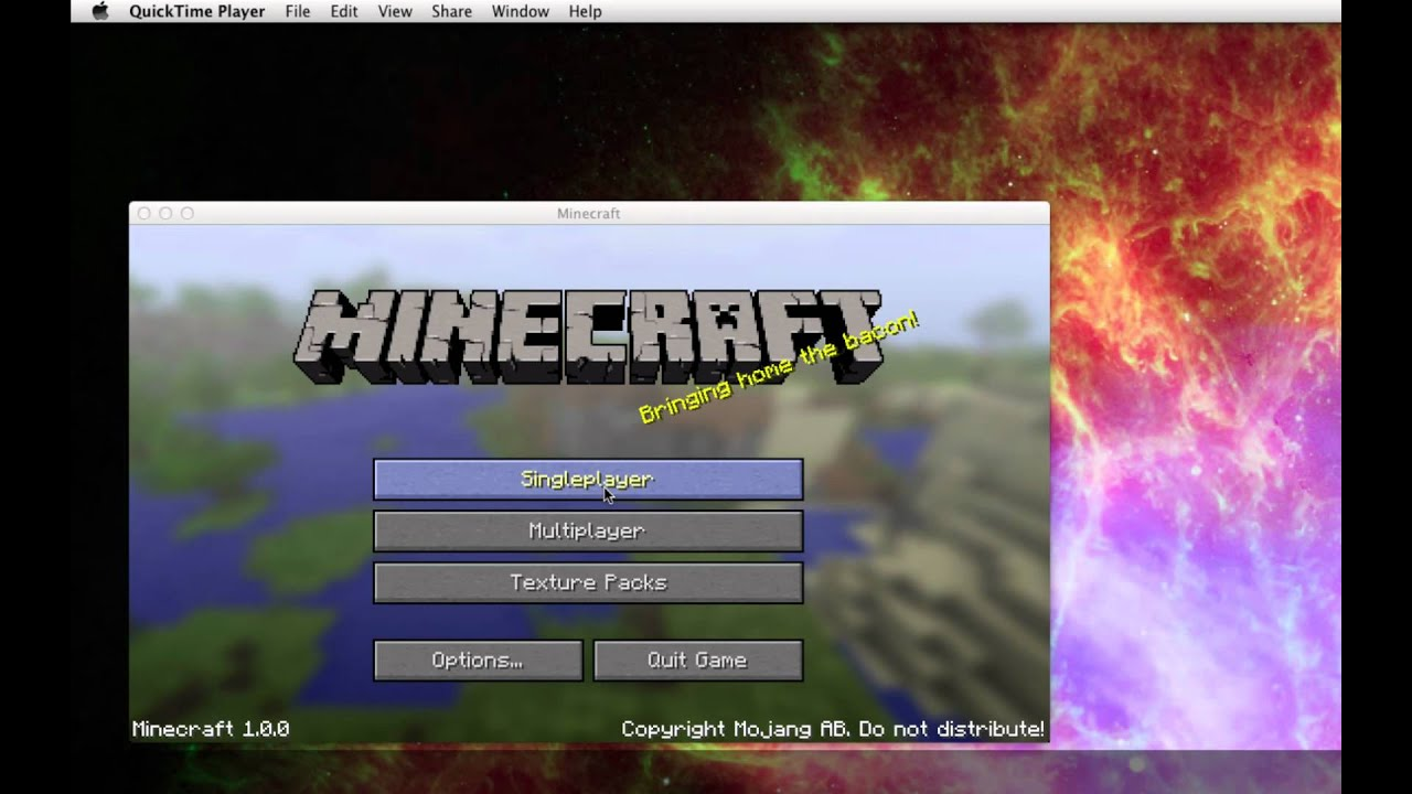 How To Record Part Of Your Screen, Or How To Record Video Games Using  Quicktime X In Mac Os 107