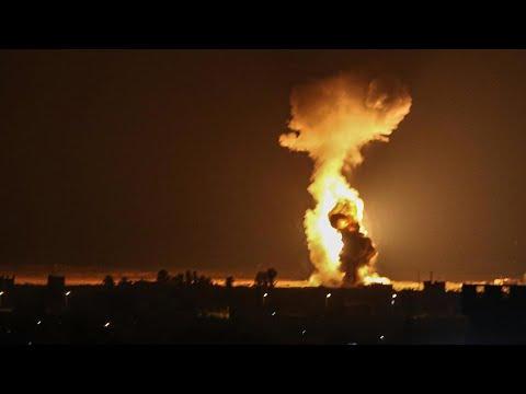 إسرائيل تشن غارات على قطاع غزة -ردا- على إطلاق بالونات حارقة  - نشر قبل 2 ساعة