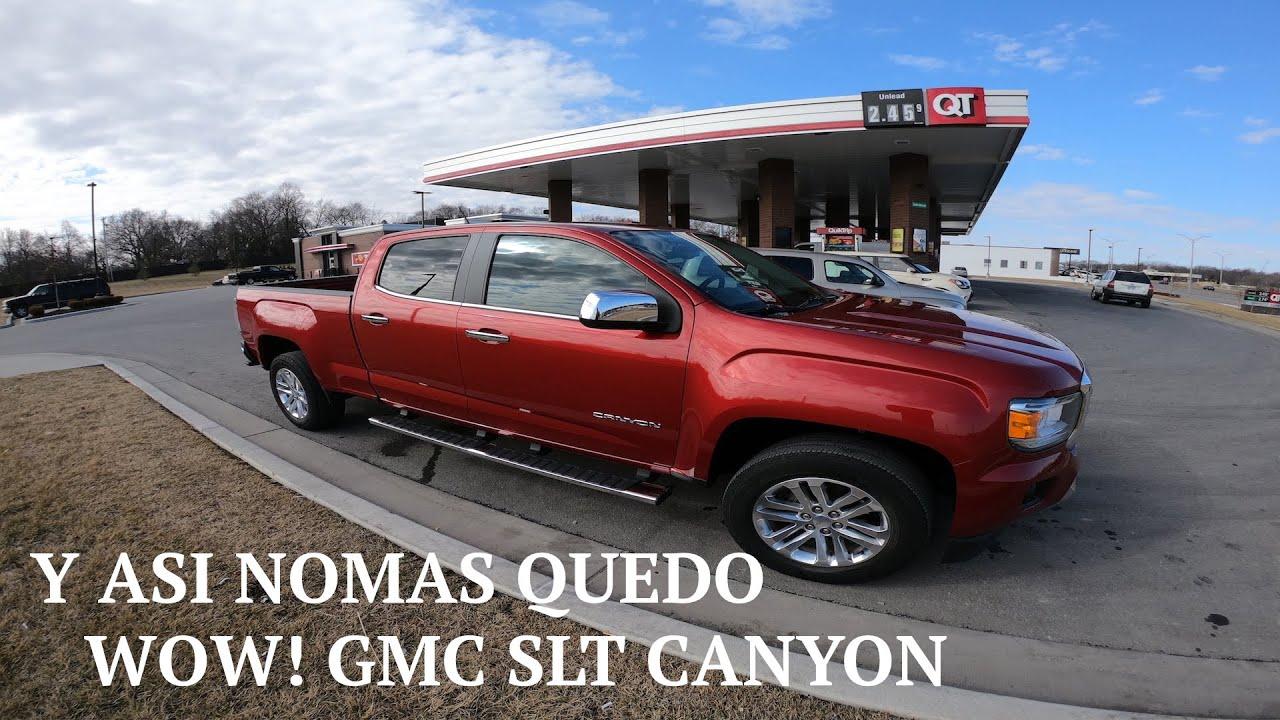 GMC CANYON SLT Y ASI NOMAS QUEDO / LO QUE TIRAN EN USA
