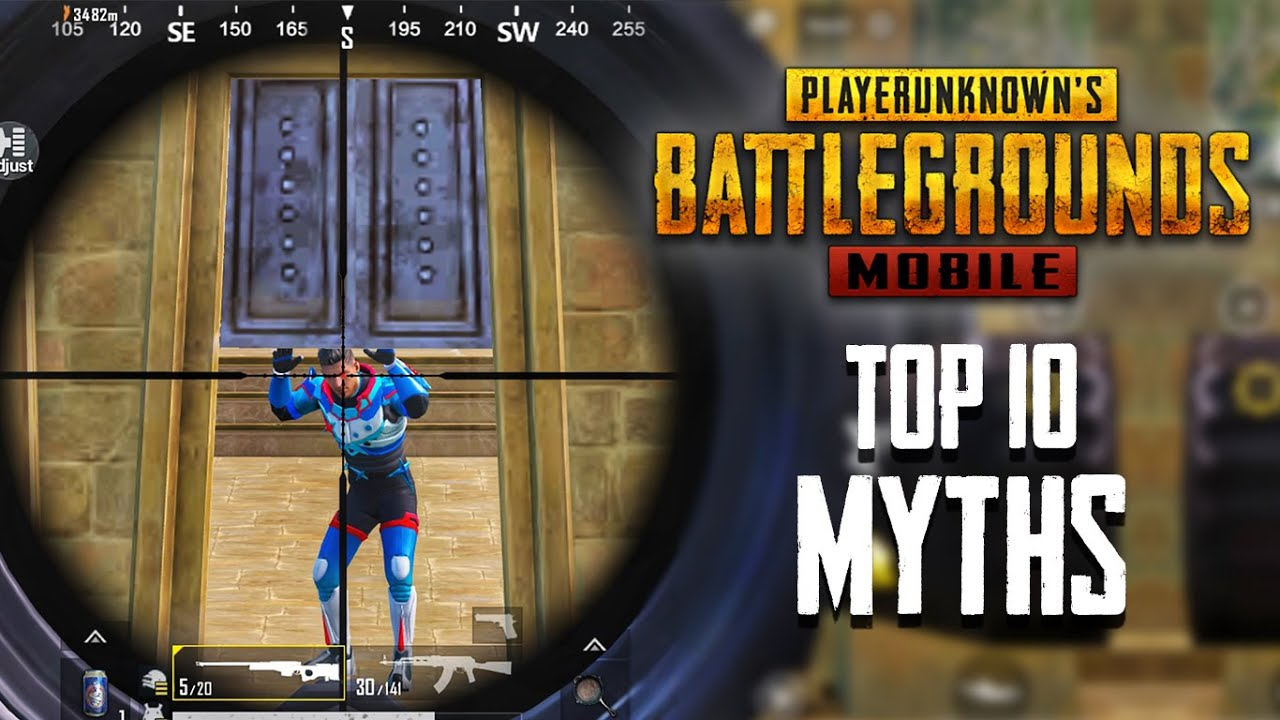 Top 10 Mythbusters in PUBG Mobile | PUBG Myths #9