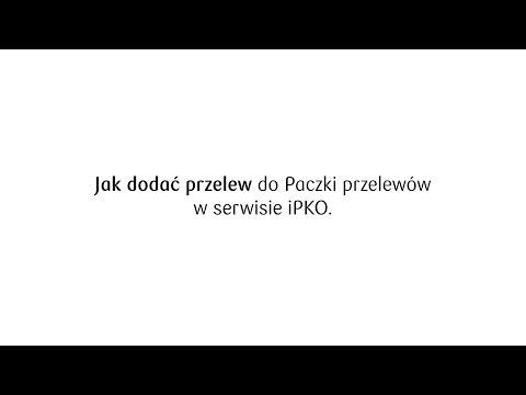 Jak dodać przelew do paczki przelewów w iPKO? | PKO Bank Polski