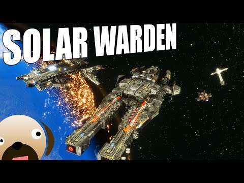 EARTH SPACE FLEET DEFENDS THE PLANET! New Space Sim Strategy - Solar Warden Gameplay