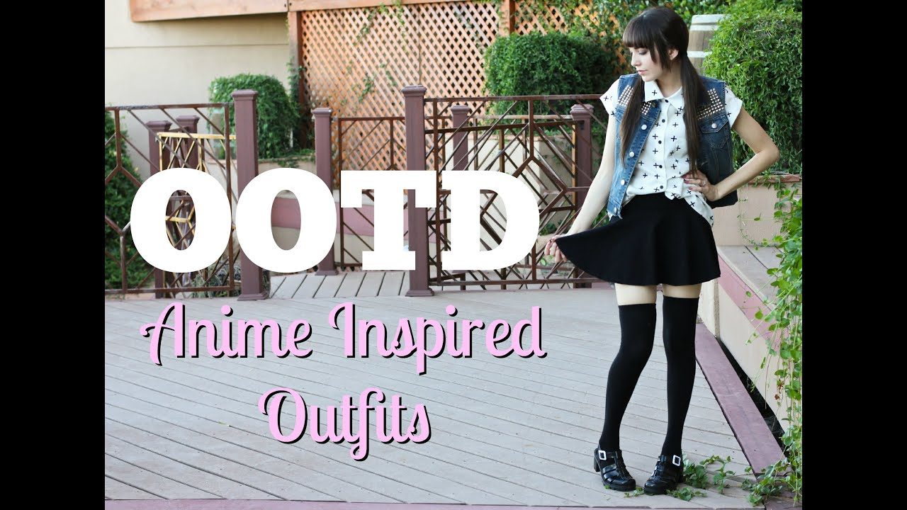 Ootd With Littlefinch Anime Inspired Outfits Youtube