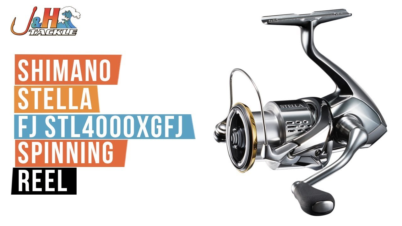 ec94cff5bdf Shimano Stella FJ STL4000XGFJ Spinning Reel | J&H Tackle - YouTube