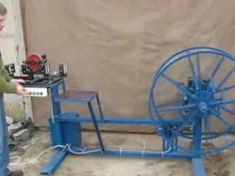 видео: Перемоточный станок для кабеля УПС 400-1000 своими руками