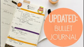 Bullet Journal Setup Update: Organize To-Do Lists + Plan Ahead!
