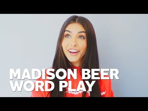 Madison Beer for RAW's Word Play