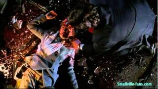 Smallville Clark's reaction to Lana's death
