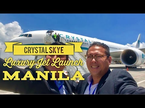 Crystal Skye World's Largest Luxury Private Jet Launch Manila Marriott Hotel - NAIA Terminal 1