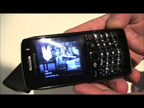 BlackBerry Pearl 3G Hands On