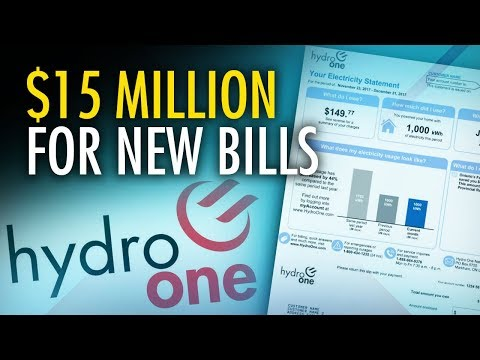 """Hydro One """"shocks"""" customers with $15M cost to revamp bills"""