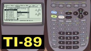 TI-89 Calculator - Sin, Cos, Tan with the TI-89 Calculator