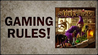 YouTube video Alchemists - Extended Rules Overview