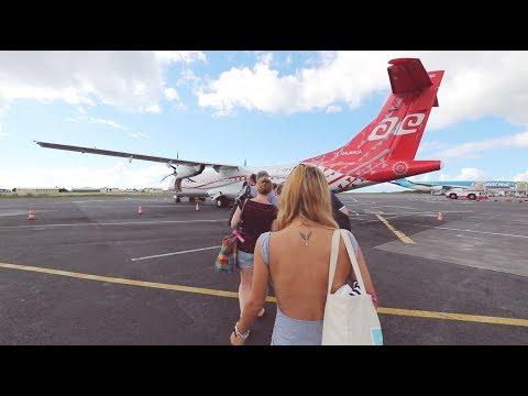 AIR TAHITI | Economy Class | ATR 72 | PPT to MOZ
