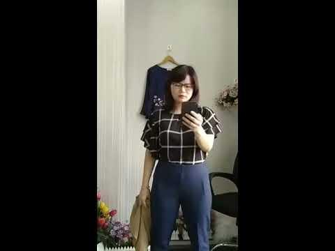 Big Size Rẻ Đẹp Hà Nội – Đầm cho người mập bụng – Quần áo big size cho người béo mập