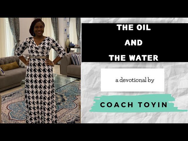 'The Oil And The Water' by Toyin Oladiran - 21 October 2017