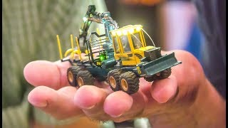 Awesome Micro Scale RC Trucks! Tractors! Skidder!