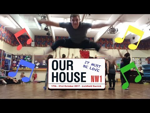 OUR HOUSE REHEARSAL VLOG | MUSICAL THEATRE VLOG |