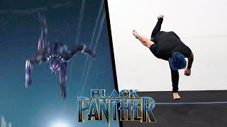 Video Stunts From Black Panther In Real Life (Parkour, Tricking) download MP3, 3GP, MP4, WEBM, AVI, FLV Juli 2018