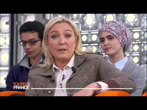 Marine Le Pen invitée de Toutes Les France : Jeunes et politiques, rétablir la connexion ? Part 1