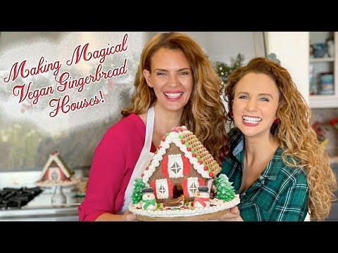 Making Magical Vegan Gingerbread Houses!