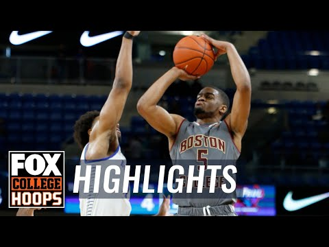 DePaul vs Boston College | FOX COLLEGE HOOPS HIGHLIGHTS