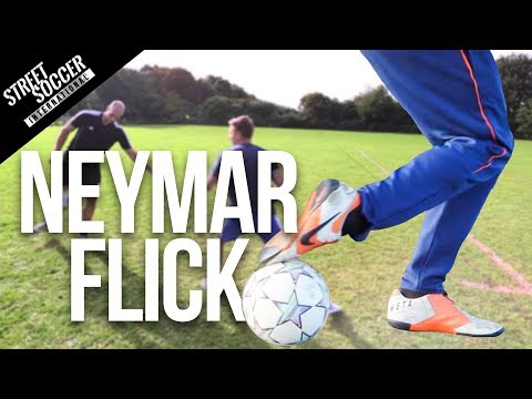 Neymar Skills - Learn Neymar Flick Football skill Travel Video