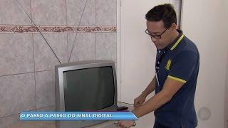 aprenda como instalar o conversor digital na tv analógica