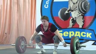 Чемпионат СФО по тяжелой атлетике в Бердске