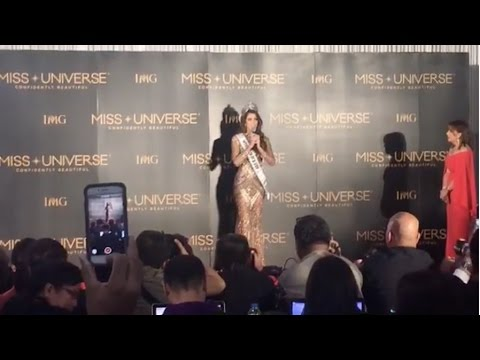 "MISS UNIVERSE 2016 - Miss France ""Iris Mitteneare"" - LIVE PRESS CONFERENCE - 65th Miss Universe"