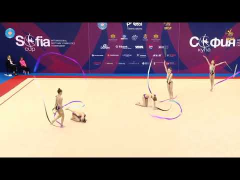 Lithuania Junior Group LTU 5 Ribbons Final - IT Sofia Cup 2019