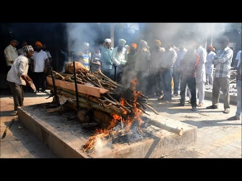 Cremation of victims