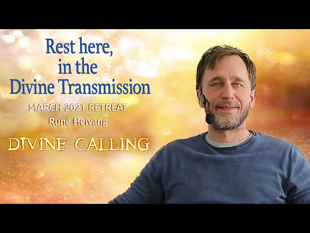 Rest here, in the Divine Transmission